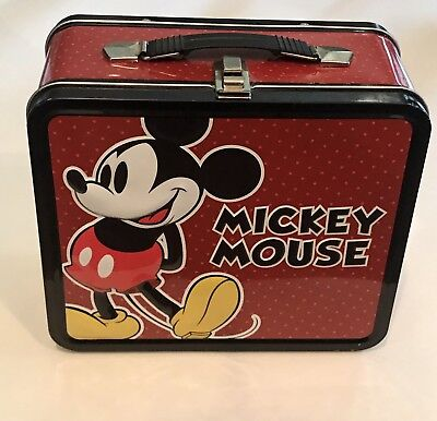 Mickey Mouse - Collectible Metal Lunch Box - Disney