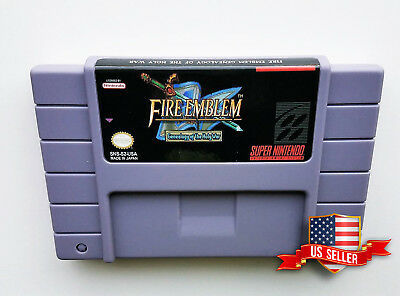 Fire Emblem - Genealogy of The Holy War - English Game SNES Super Nintendo - RPG