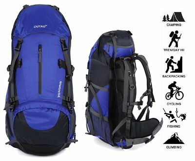030505ea6848 Hiking Backpacks TanXianZhe Waterproof 60L Outdoor Sports ...