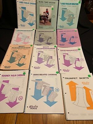 12 Booklets The needle-Witted woman thelma Viers Knitting Machine Patterns