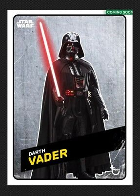 Darth Vader-Rogue One-Challengers-Steel-Super Award-Topps Star Wars Card Trader