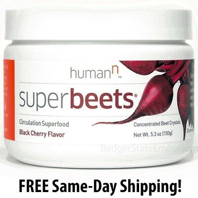 Super Beets by HumanN Black Cherry * Circulation Superfood Nitric Oxide Exp 2020