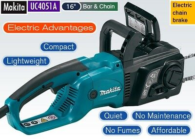 Makita UC4051A Electric Chainsaw 240V 40cm Bar 400mm Power Tools Electric Tool