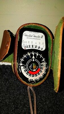 vintage Weston light meter for film photography Weston master 3