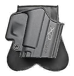 Springfield Armory XD3500PH1 Conceal Paddle Holster Right Hand Black Fits All XD