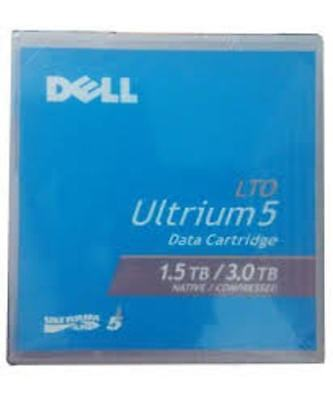 5 x Brand New Genuine Dell LTO-5 Ultrium 1.5TB / 3.0TB Tape Data Media Cartridg