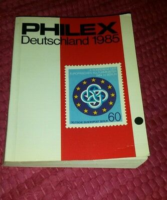 Briefmarken Katalog Philex Deutschland 1985