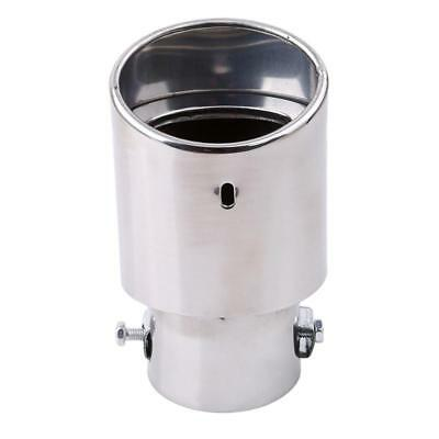 Stainless Steel Round Exhaust Pipe Tail Muffler Tip For Porsche Panamera 4S one