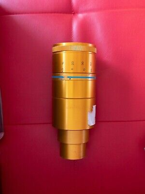 ✮ Gold ISCO - Ultra Star 2x anamorphic adapter + its rear 80mm ''taking'' lens