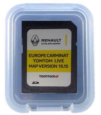 Renault Tomtom Carminat Live Sd Card Europa 2018-2019