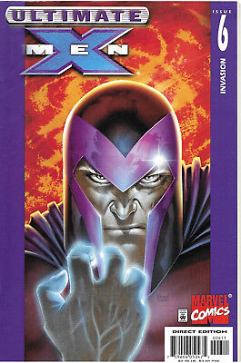 Ultimate X-Men #6 - July 2001