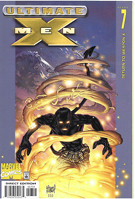 Ultimate X-Men #7 - August 2001