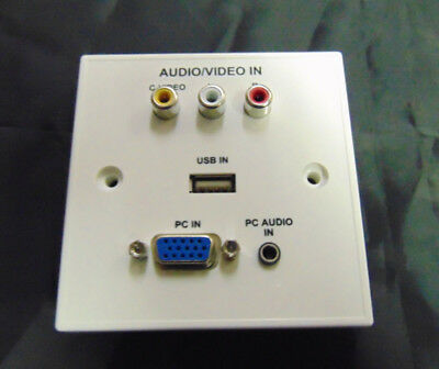Astute USB/SVGA/Composite/Audio Faceplate
