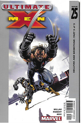 Ultimate X-Men #25 - January 2003
