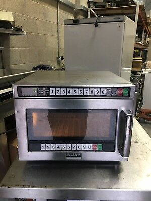 Sharp R1900M Commercial Microwave