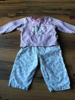 Jojo Maman Bebe 12-18 Month Girls Pyjamas