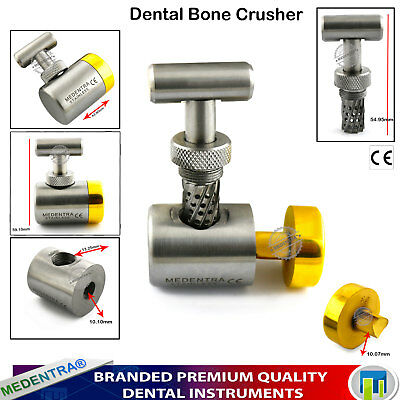 Dental Implant Instruments Bone Crusher Bone Mill Bone Morselizer Augmentation