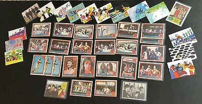 Beatles Trading Card Lot Yellow Submarine Promo 1964 Topps Sgt Pepper 1978