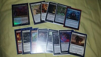 Lot collection of MTG cards. Rares, commander and stable cards.
