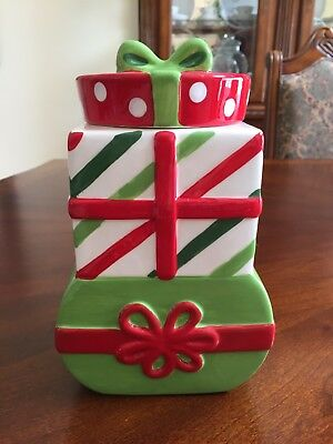 Christmas Gift Box / St. Jude Research Children's Ceramic Cookie Jar