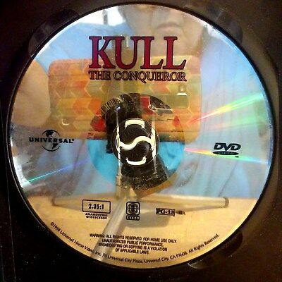 Kull the Conqueror (DVD, 1998) Disc Only! No case.