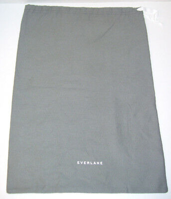 NEW Everlane Cloth Dust Bag Gift Storage Shoes Etc 17.75 x 12.25 Gray