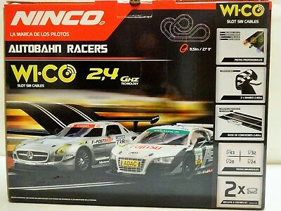 Ninco Highway Racers 20167,Wireless 2,4 Ghz,Length 8,51 M,with Audi + Mercedes