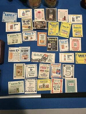 A Lot Of 1960-1970's Grocery Coupons