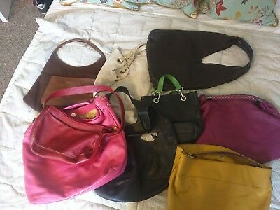 Job Lot Branded Leather Bags