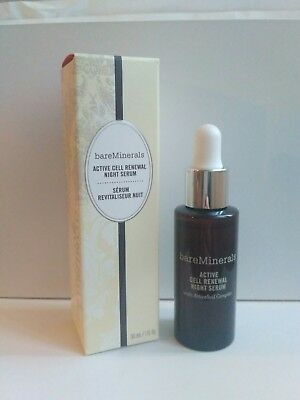 Bare Minerals Active Cell Renewal Night Serum 30ml New Boxed *FAST POST*