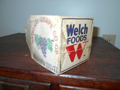 Welch's Grape advertising note pads K-ube, National Grape Co-Op