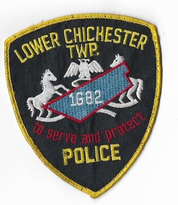 Lower Chichester Township Pennsylvania Police Patch