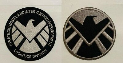 Marvel S.H.I.E.L.D Avengers Cosplay Hero Iron On Sew ON Embroidered Badge Patch