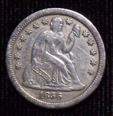 1856 O Seated Liberty Dime  VF