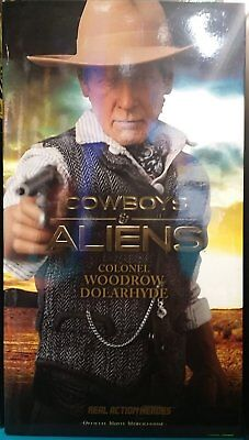 Medicom Cowboys and Aliens Real Action Heroes Colonel Woodrow Dolarhyde Figure