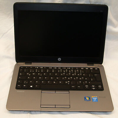 Notebook HP Elitebook 820 G1 Core i7-4600U 2.1GHz 8GB 12,5 Zoll 128GB SSD Wlan