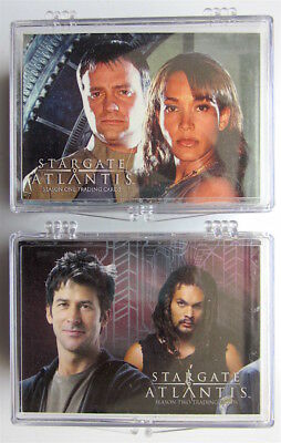 Stargate  Atlantis  -  2 x Trading Cards Basis Sets  -  Rittenhouse