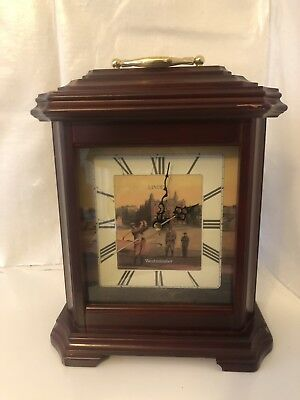 VINTAGE Germany Linden Westminster Chime Wall Clock FREE SHIPPING