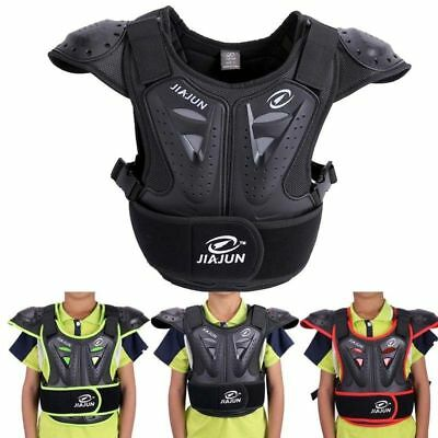 Body Armour Vest Chest Spine Kids Motorcycle Bike Jacket Dirt Gear Protector
