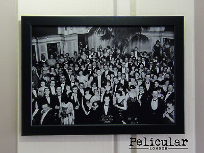 Overlook Hotel Guests PHOTO - replica - The SHINING 1980 - in the black FRAME