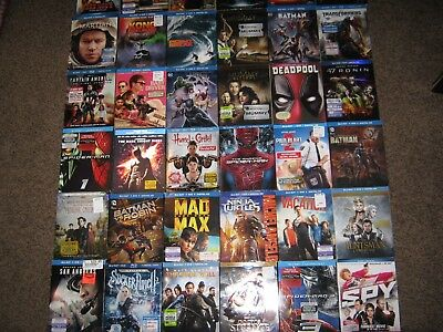 100's Of Blu Ray/dvd Slip Covers To Choose From! Gr8T Titles Disney Pick Any 2