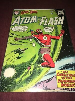 Brave and the Bold #53 (1964) DC Comics Silver Age THE ATOM THE FLASH Silver Age