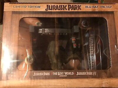 Jurassic Park Ultimate Trilogy Gift Set (Blu-ray) (1993-2001) LIMITED EDITION