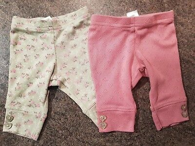 NEXT Baby Girls Newborn Leggings (A499)