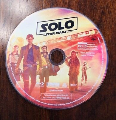 Solo: A Star Wars Story Blu-Ray Disk