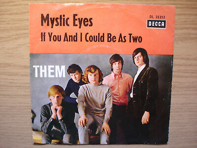 THEM  Mystic Eyes / If You And I Could Be As Two  Decca DL25212  RARER BEAT