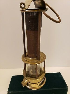 Vintage Antique Safety Lamp American Safety Lamp & mine Supply Co Scranton,Pa