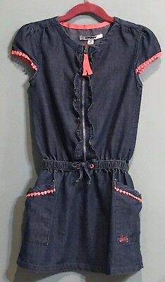 acc1816647 DKNY DENIM DRESS with Cap Sleeves for Girls
