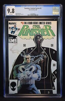 Punisher Limited Series #3 - CGC 9.8 White Pages
