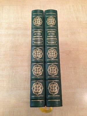 Speeches of The American Presidents 2 vol Library of the Presidents Easton Press